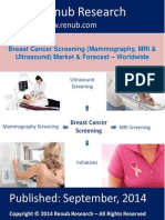 Breast Cancer Sceening Market