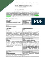 Proyecto de Reforma Estatutaria - Reformas Parciales (PRP)