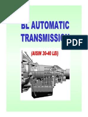 Bl Aisin(30-40lei) At | Transmission (Mechanics) | Throttle