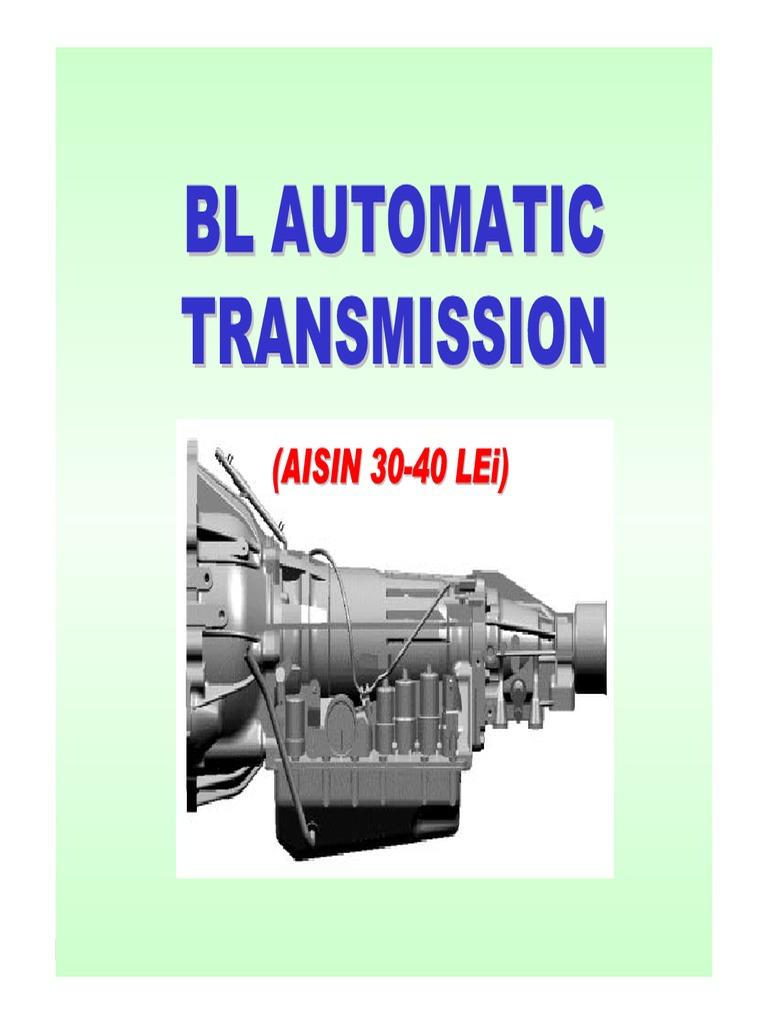 bl aisin(30 40lei) at transmission (mechanics) throttle house wiring diagrams aisin wiring diagram #26