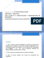 SESION N° 2 CONSTITUCIÓN DE EMPRESAS - PERSONA NATURAL Y PERSONA JURIDICA..ppt