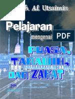 Pelajaran Tentang Puasa, Tarawih Dan Zakat