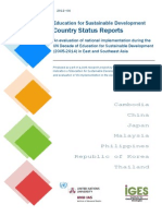 ESD Country Status Report