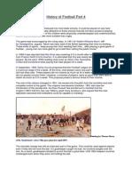 History of Football Part 4