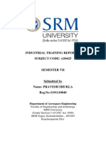 Industrial Training Report