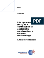 Report LCC Sustainable Construction Liter.review May2007 En