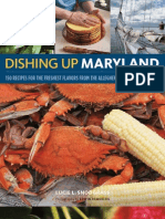 Dishing Up Maryland — Book Layout and Design