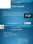 PYTHON course institute in Delhi, PYTHON course institute in janakpuri.