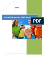 Dental Clinic Software for better management - Dentsoftware