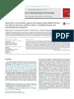 Salazar et al. 2013 Interaction, social identity, agency and change during Middle Horizon San Pedro de Atacama (northern Chile)