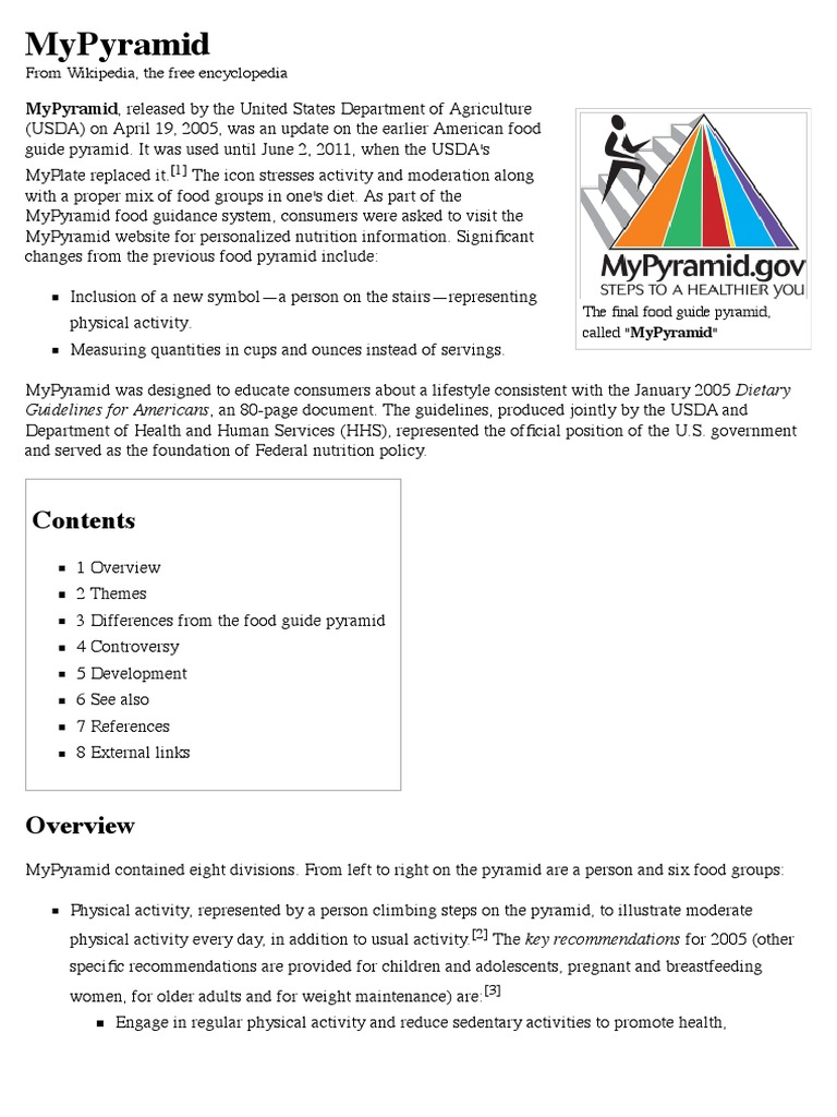 MyPyramid - Wikipedia, the free encyclopedia pdf