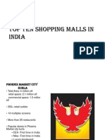 Top Ten Shopping Malls in India