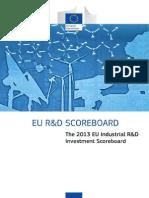 The 2013 EU Industrial R&D Investment Scoreboard.pdf