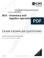 AC4_Inventory and Logistics Operations_Multiple Choice Questions