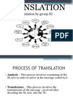 Basic Concepts of Translation