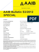 AAIB S3-2012 G-REDW