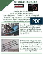 DIY Hidrolik Kap Mesin Interplay