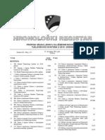 Hronoloski Registar - 2013