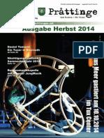 Tuxer Prattinge - Ausgabe Herbst 2014