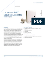 85001-0548 -- Optical Beam Smoke Detector