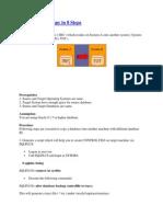 Database Copy in 8 Steps