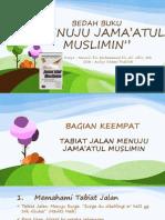 Menuju Jama'Atul Muslimin Bab 4