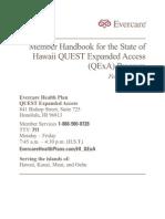 Evercare Membership QExAhandbook