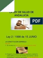 LA LEY DE SALUD DE ANDALUCIA.ppt