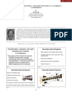 Aeroderivative, industrial and light industrial gas turbines, a comparison.pdf
