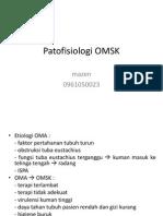 Patofisiologi OMSK.ppt - Laras