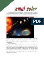 Cele Noua Planete Ale Sistemului Solar