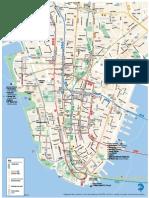 MTA Lower Manh Map
