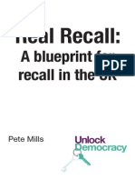 Real Recall - a blueprint for recall in the UK