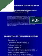 Intro to GIS