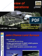 An Overview of LiDAR Operations