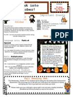 october newsletter 2014r