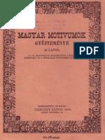 Magyar Motívumok Gyűjteménye - 1918