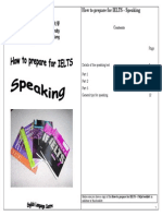 English - How to Prepare for Ielts - Speaking