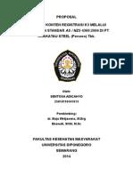 Proposal Penelitian Cahyo K3 FKM Undip.doc