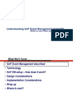 Understanding SAP Event Management