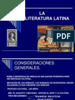LA LITERATURA LATINA.ppt
