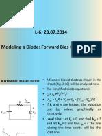 23 Jul 2014 RM01 L 6 Modeling Diodes