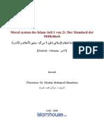 Moral system des Islam (teil 1 von 2)