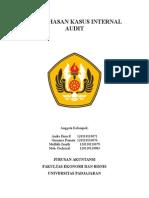 Pembahasan Kasus Internal Audit