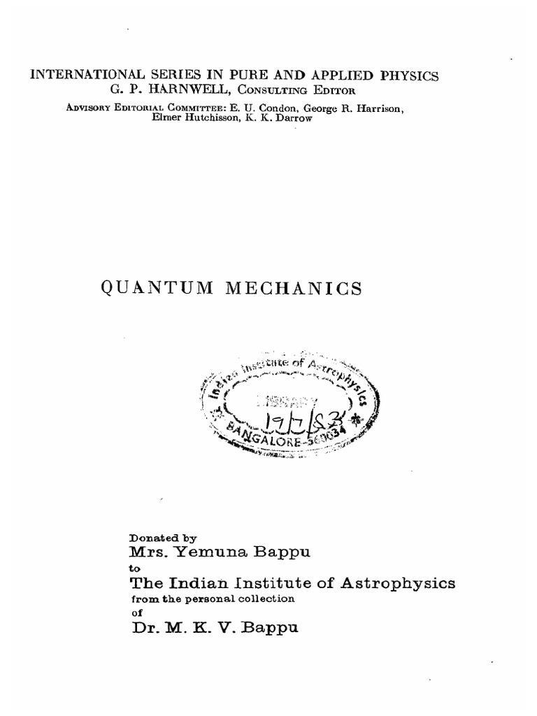 Quantum mechanics l schiffpdf perturbation theory quantum quantum mechanics l schiffpdf perturbation theory quantum mechanics quantum mechanics fandeluxe Choice Image