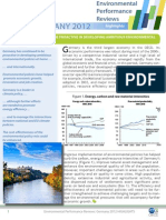 Germany 2012 Environmental Performance Review - Highlights