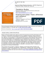 Travel Difference and Translation (2010)