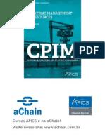 aChain APICS - Slides do curso SMR Strategic Management of Resources - aChain APICS CPIM.ppt