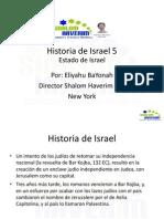 Historia de Israel 5 Estado de Israel Sionismo.pdf