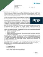 Surat VLE-FROG Kepada Guru 2014